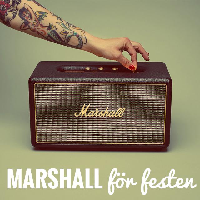 Marshall Stanmore högtalare